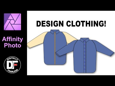 Design clothing, Affinity Photo tutorial and probably Affinity Designer. thumbnail