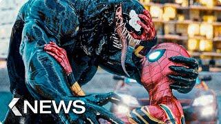 Gambar cover Venom 2 vs. Spider-Man, The Batman, Deadpool 3… KinoCheck News