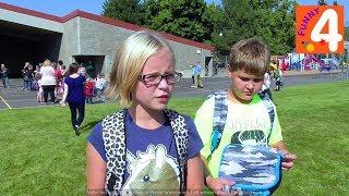 Первый День в Школе / Школы США/ Американские школы/ Back to School Учеба в Америке