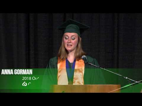College of DuPage's 51st Commencement - Anna Gorman