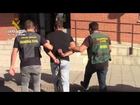 La Guardia Civil detiene en España a siete personas huidas de las Justicia de sus países