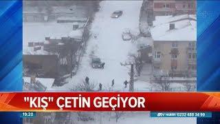 Kış çetin geçiyor - Atv Haber 17 Ocak 2019