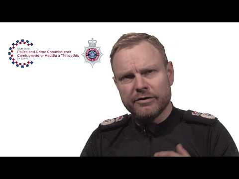 International Women's Day 2018 - Chief Constable Matt Jukes, South Wales Police
