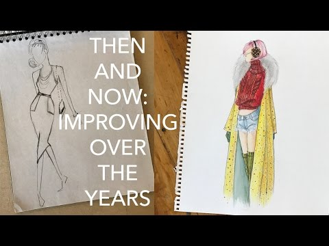 My Old Sketches: Improving Over the Years