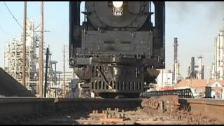 Run over by a Steam Train - UP 844
