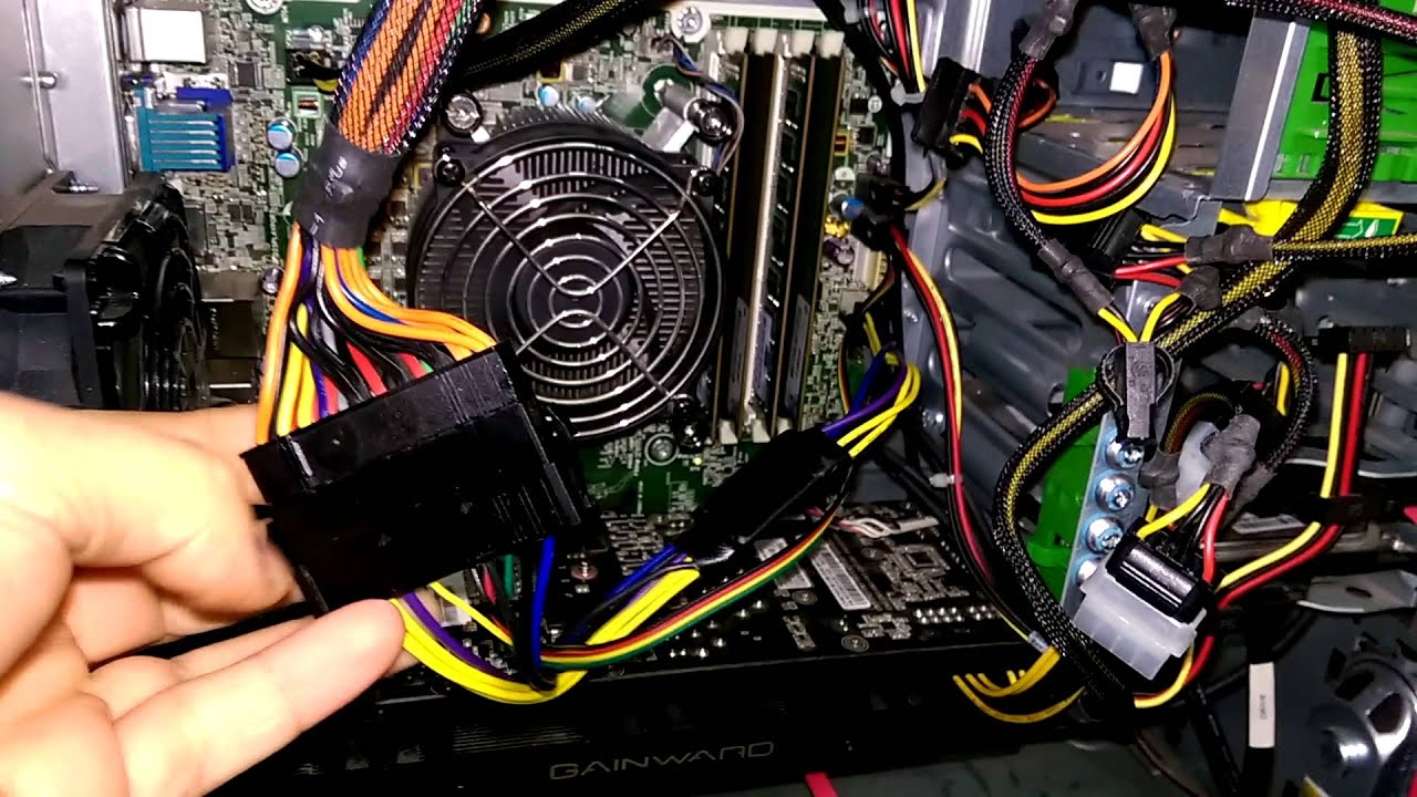 HP ELITE 8100 to 8300 SERIES USE YOUR OWN PSU! - YouTube
