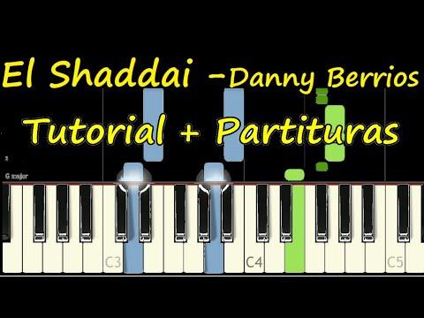 EL SHADDAI Piano Tutorial Cover + Partitura PDF Sheet Music Danny Berrios thumbnail