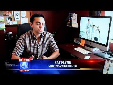 Pat Flynn from SmartPassiveIncome.com on Fox 5 San Diego