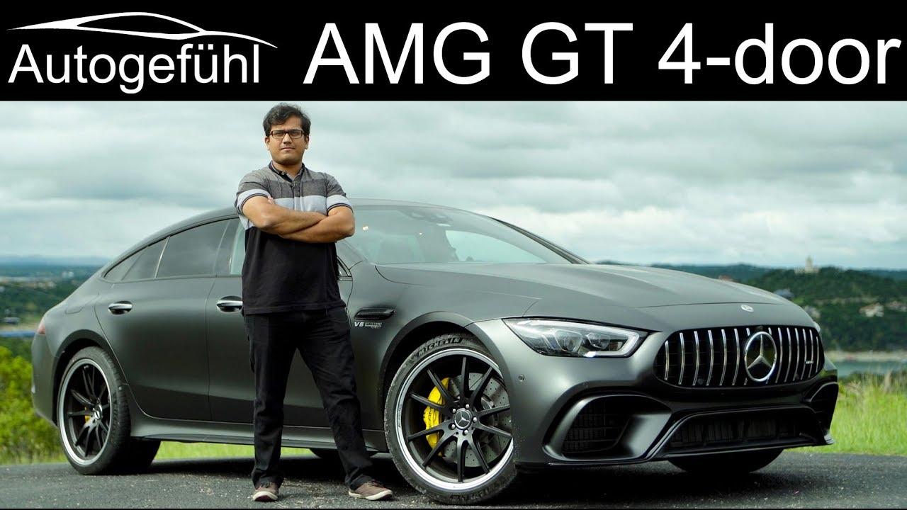 Mercedes-AMG GT 4-door Coupé FULL REVIEW AMG GT 63S 4-Türer - Autogefühl