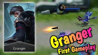 New Hero Granger - The Best Marksman? 🤔 😱 First Gameplay Mobile Legends: Bang Bang