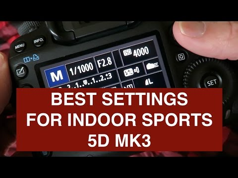 Best Settings For Basketball | Sports Photography 2017