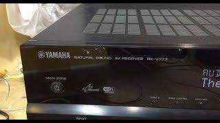 Ta'mirlash, Yamaha RX-V777 qisqa tutashuv so'ng navbat bo'yicha emas
