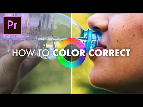 How to Color Correct in Adobe Premiere Pro CC 2017 (Basic Correction + Lumetri Scopes Tutorial)