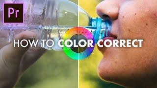 Video How to Color Correct in Adobe Premiere Pro CC 2017 (Basic Correction + Lumetri Scopes Tutorial) download MP3, 3GP, MP4, WEBM, AVI, FLV Mei 2018