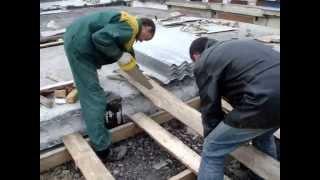 Ремонт крыши гаража(, 2010-05-30T22:47:22.000Z)