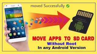 Move Apps To SD Card From Internal Memory on Any Android Phone