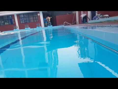 Galaxy S7 edge under water Study hall pool