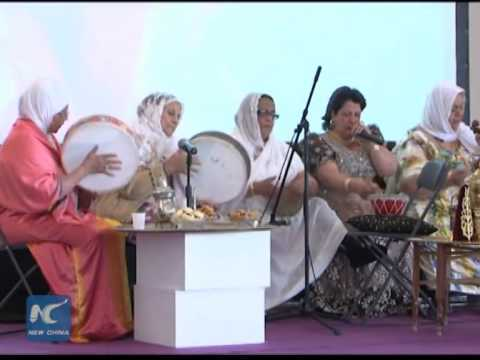 Algeria's traditional wedding dresses