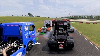 FIA European Truck Racing Championship - PC Gameplay (1080p60fps)