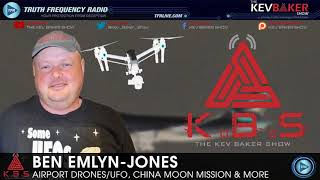 👽 Airport Drones/UFO, China Moon Mission & Other Signs In The Skies w/Ben Emlyn-Jones
