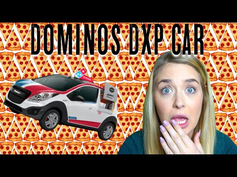 dominos dxp pizza delivery car youtube. Black Bedroom Furniture Sets. Home Design Ideas