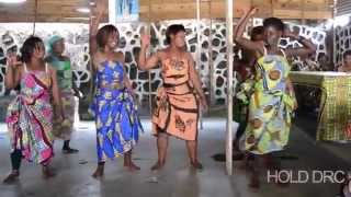 Congolese traditional dance HOLD DRC