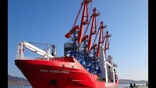 ЗАО «СММ» уникальная транспортировка портальных кранов «Витязь» по Севморпути