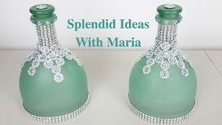 DIY Bottle Decorating ideas / Centerpiece ideas
