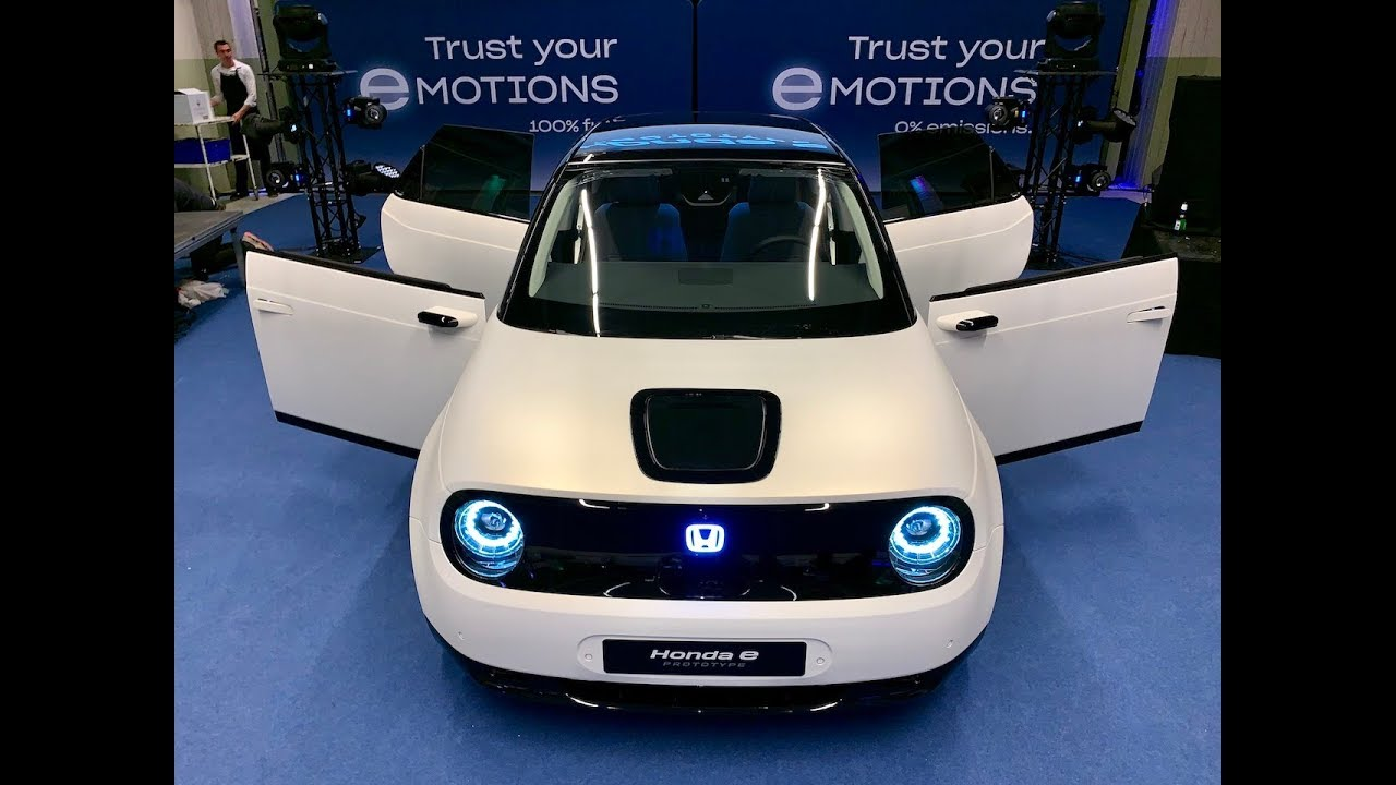 Honda E Urban Ev 1st Look With Hidden Easter Eggs