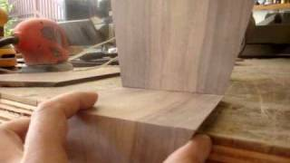 Building A Miniature Model Chair Out Of Walnut