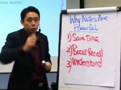 Adam Khoo - The power of Notes - why you should taking notes