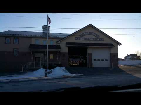 Lancaster County fire station 301 responding to a