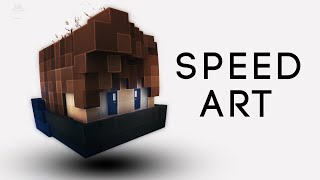 [14] Minecraft | Profile Picture Speed Art : New Profile Picture Style!!!