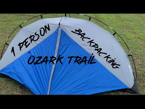 Ozark Trail 1 Person Backpacking Tent/1st Look