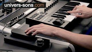 Présentation et démo du touché SE d'expressive E au studio - Univers-Sons