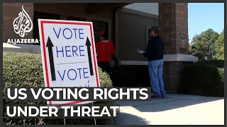 US activists decry 'tidal wave' of voter suppression laws
