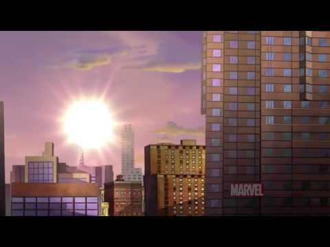Смотреть онлайн мультфильм совершенный человек паук 5 сезон