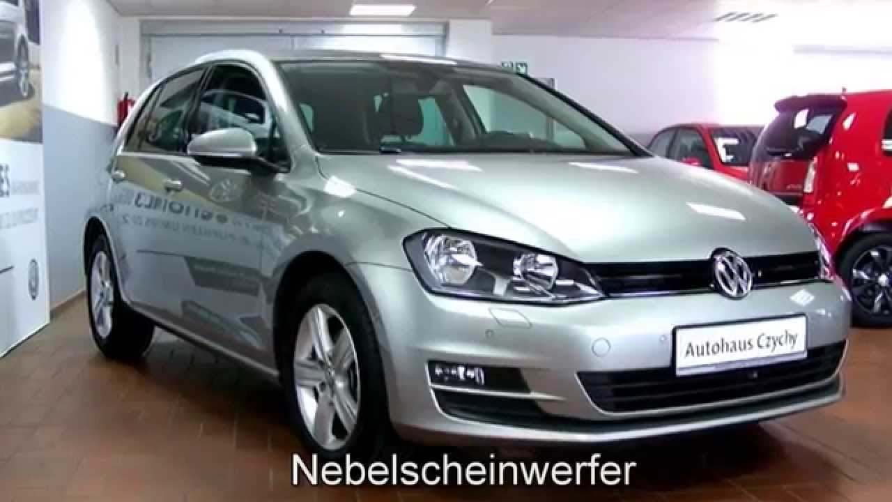 volkswagen golf vii 1 2 tsi comfortline dp095676 tungsten silver autohaus czychy youtube. Black Bedroom Furniture Sets. Home Design Ideas