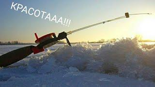 Первый лед Зимняя рыбалка на ротана 2019