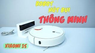Robot Máy Hút Bụi Thông Minh Xiaomi 1S SDJQR03RR - Dùng Cảm Biến Laser LDS mới của Vision
