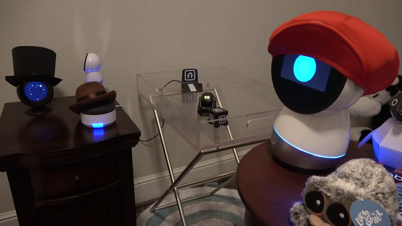 Jibo and Friends – Countdown to New Year's