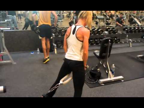 Cable Pull Through Exercise For Hams And Glutes Youtube