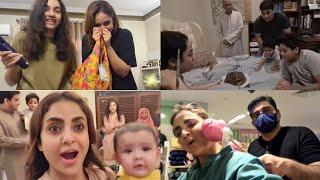 Humaare ghar aaya New Baby, Faisal ne gift diya ajeeb dress , Alyzeh Birthday Prank, Faisal ka punch