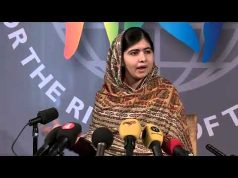 Malala Yousafzai Receives World