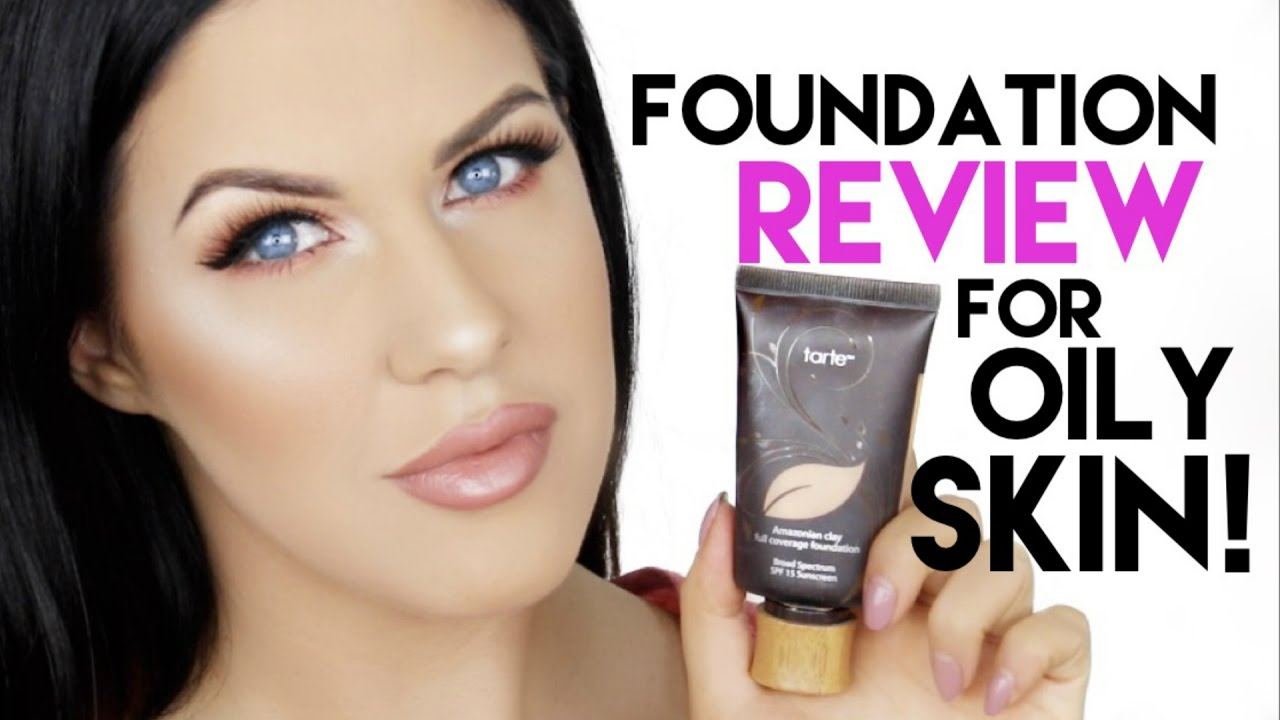Tarte Ian Clay Foundation For Oily Skin Review 12 Hour Wear Test You