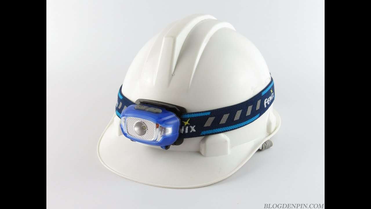 Đánh giá đèn pin đeo trán siêu nhẹ Fenix HL15 - 2 x AAA, 200 Lumens, ánh sáng vàng