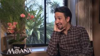 MOANA interview with Lin-Manuel Miranda