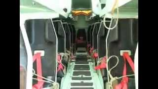 1700 TEU Container Ship Test of Free-Fall Life Boat