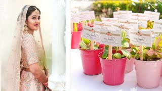 In My Wedding, We Gave Pretty Plant Gifts! Here Is How You Can Try This Idea