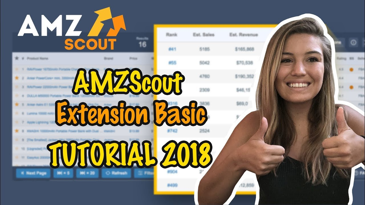 How to start selling on Amazon.Amazon extension for sellers. AMZScout Basic Extension Tutorial.